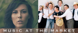 Music at the Market: Western Swing Authority & Jessie T